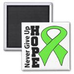 La esperanza del linfoma nunca da para arriba iman de nevera