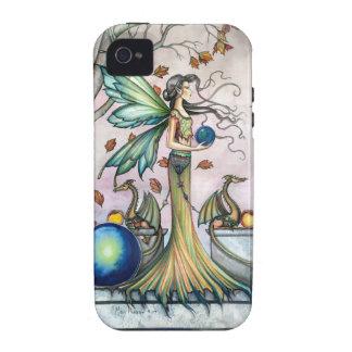 La esperanza empiedra arte de hadas de la fantasía iPhone 4 carcasa
