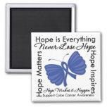 La esperanza es todo - conciencia del cáncer de co imanes