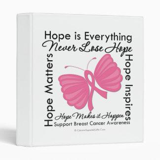 """La esperanza es todo - conciencia del cáncer de pe carpeta 1"""""""