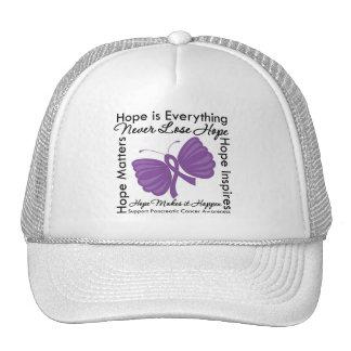 La esperanza es todo - conciencia del cáncer pancr gorras