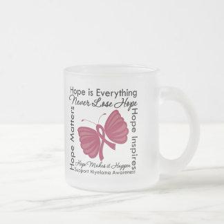 La esperanza es todo - conciencia del mieloma múlt tazas de café