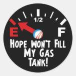 La esperanza está en vacío - Barack Obama anti Etiquetas Redondas