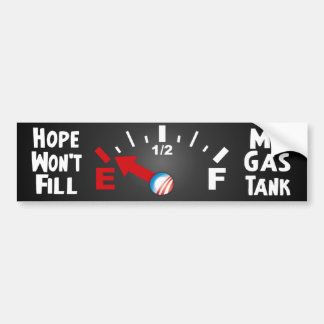 La esperanza está en vacío - Barack Obama anti Pegatina Para Auto