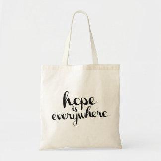 La esperanza está por todas partes - la bolsa de