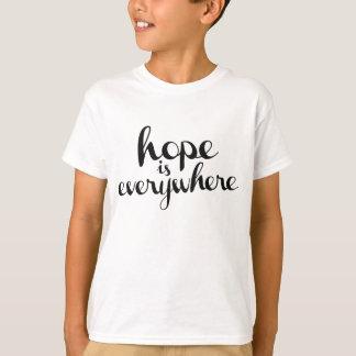 La esperanza está por todas partes - los colores remeras