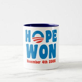 La esperanza ganó la taza