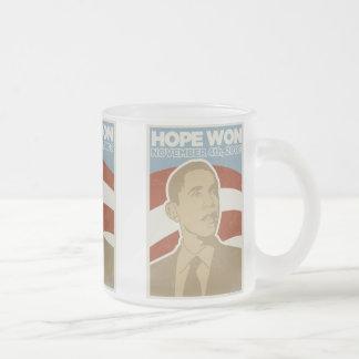 La esperanza ganó la taza de Obama