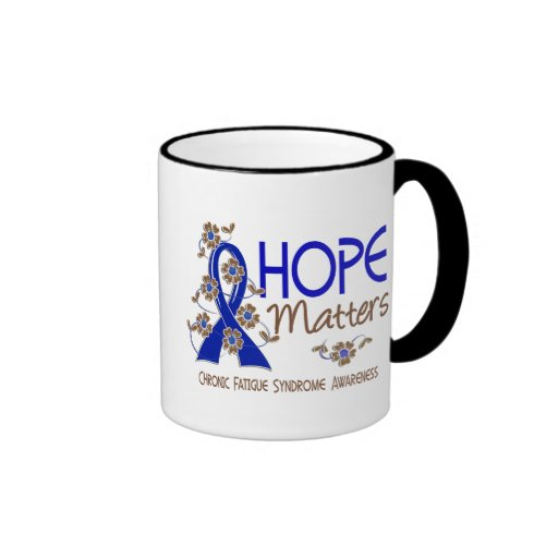 La esperanza importa 3 CFS Taza A Dos Colores