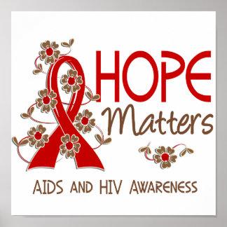 La esperanza importa 3 SIDA Posters