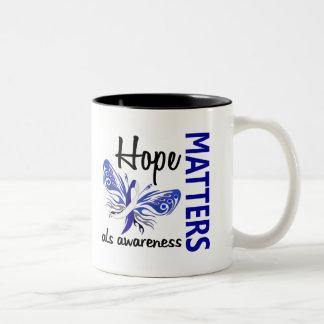 La esperanza importa ALS de la mariposa Taza De Café