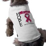La esperanza importa anemia de la célula falciform ropa perro