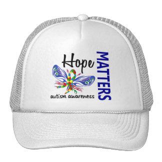 La esperanza importa autismo de la mariposa gorro