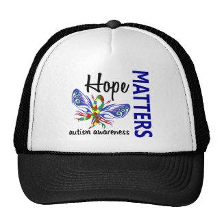 La esperanza importa autismo de la mariposa gorros
