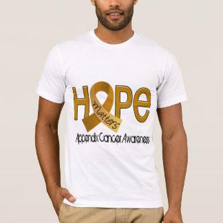 La esperanza importa cáncer de 2 apéndices playera