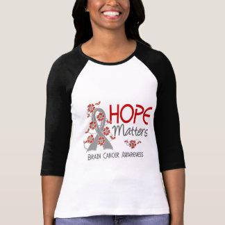 La esperanza importa cáncer de cerebro 3 camiseta