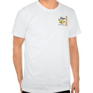 La esperanza importa cáncer del apéndice de la mar camiseta
