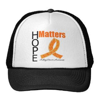 La esperanza importa cáncer del riñón (la cinta Je Gorro
