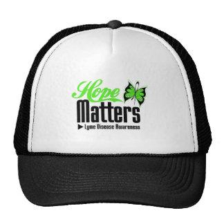 La esperanza importa conciencia de la enfermedad d gorras de camionero