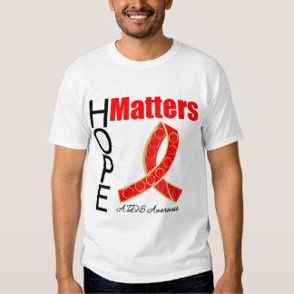 La esperanza importa conciencia del SIDA (la cinta Playera