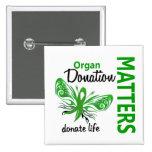 La esperanza importa donación de órganos de la mar pin