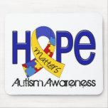 La esperanza importa el autismo 2 tapetes de raton
