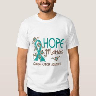 La esperanza importa el cáncer ovárico 3 polera