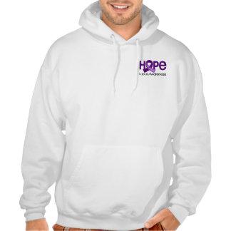 La esperanza importa el lupus 2 sudadera con capucha