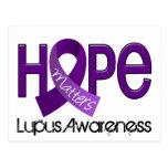 La esperanza importa el lupus 2 tarjetas postales
