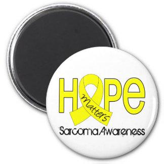 La esperanza importa el sarcoma 2 imán redondo 5 cm
