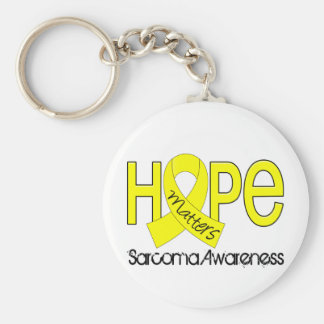 La esperanza importa el sarcoma 2 llavero redondo tipo pin