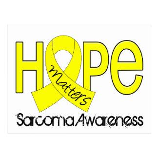 La esperanza importa el sarcoma 2 tarjeta postal
