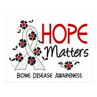 La esperanza importa enfermedad de 3 huesos postal