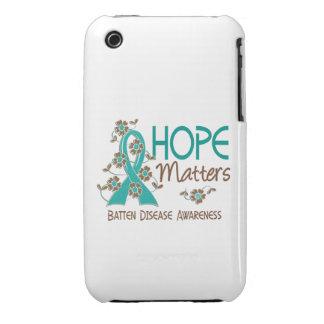 La esperanza importa enfermedad de 3 listones Case-Mate iPhone 3 cárcasas