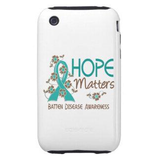 La esperanza importa enfermedad de 3 listones tough iPhone 3 funda