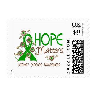 La esperanza importa enfermedad de riñón 3 sellos