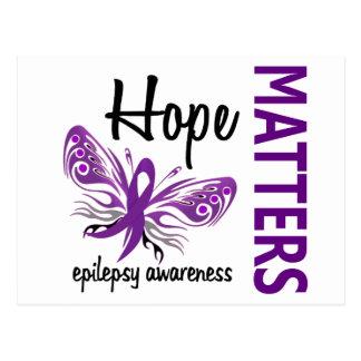 La esperanza importa epilepsia de la mariposa postales