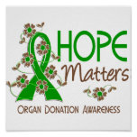 La esperanza importa la donación de órganos 3 impresiones