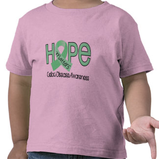 La esperanza importa la enfermedad celiaca 2 camiseta