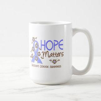 La esperanza importa la enfermedad de 3 Addison Tazas De Café