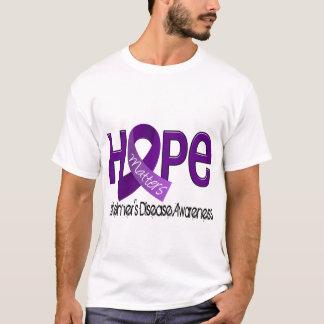 La esperanza importa la enfermedad de Alzheimer 2 Playera