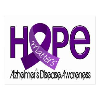 La esperanza importa la enfermedad de Alzheimer 2 Postales