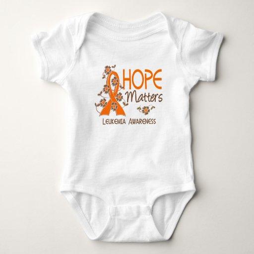 La esperanza importa la leucemia 3 tshirt