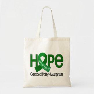 La esperanza importa la parálisis cerebral 2 bolsas lienzo