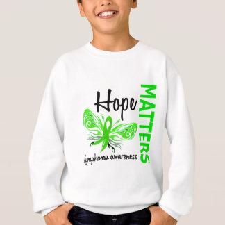 La esperanza importa linfoma de la mariposa remera