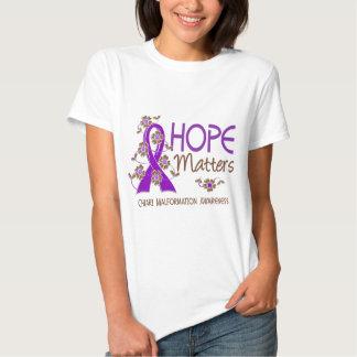 La esperanza importa malformación de 3 Chiari Remeras