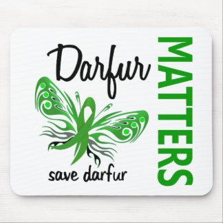 La esperanza importa mariposa Darfur Tapete De Raton