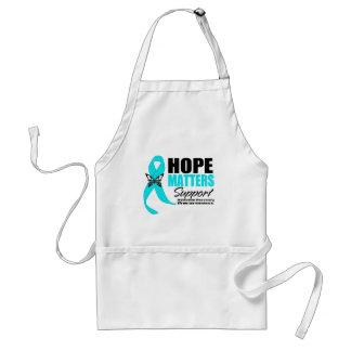 La esperanza importa recuperación del apego delantal
