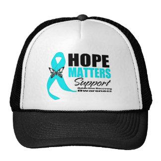 La esperanza importa recuperación del apego gorros bordados