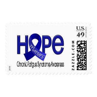 La esperanza importa síndrome crónico del sello